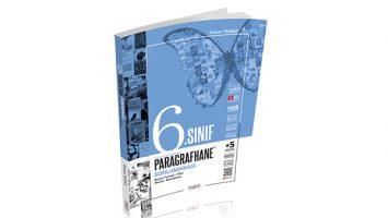 6. Sınıf Paragrafhane Sözel Mantıklı Soru Bankası Lodos Yayınları